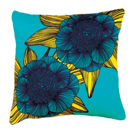 Victoria Blue Cushion by Camilla Meijer