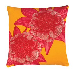 Victoria Pink Cushion by Camilla Meijer