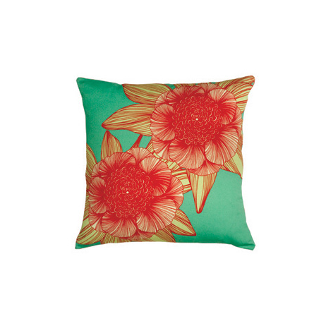 Victoria Red Cushion by Camilla Meijer