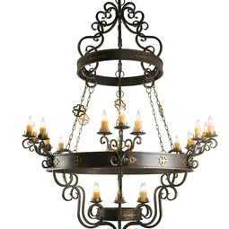 "Santino Chandelier 72"" by 2nd Ave Design"