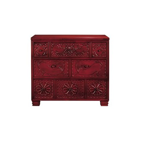 Carved Chest by Hickory Chair Furniture Co.