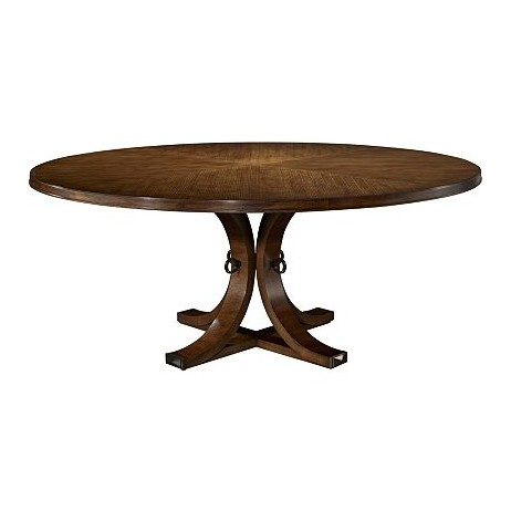 Artisan Round Dining Table  by Hickory Chair Furniture Co.