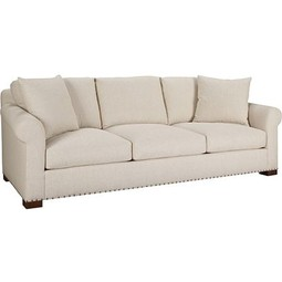 Celine Exposed Leg Sofa by Hickory Chair Furniture Co.