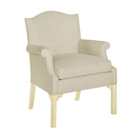 Chippendale Occasional Chair by Hickory Chair Furniture Co.