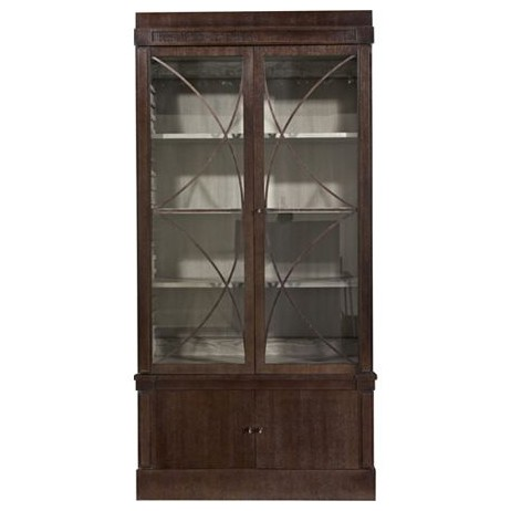 Artisan 2-Door Ash Grand Cabinet  by Hickory Chair Furniture Co.
