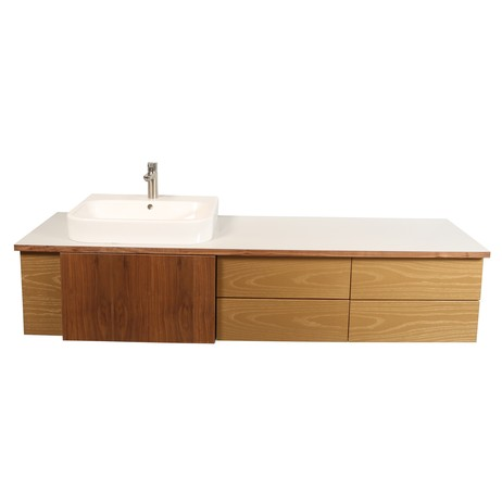 Wall*nut Vanity XL by Think Fabricate