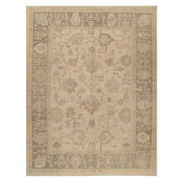 reproduction oushak rug by Lavender Oriental Carpets