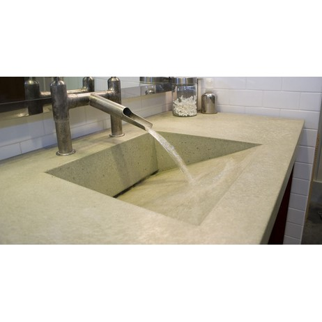 Concrete Rear Ramp Sink  by Sonoma Cast Stone