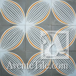 Bloom 3A Cement Tile by Avente Tile