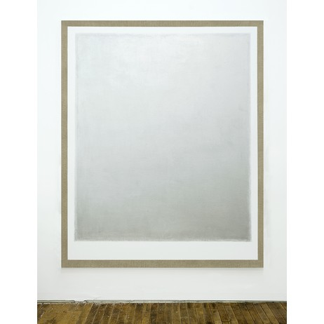 Large Silver Painting by Paul Sunday