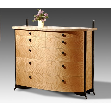 French Curve Dresser by Rob Hare Furnituremaker