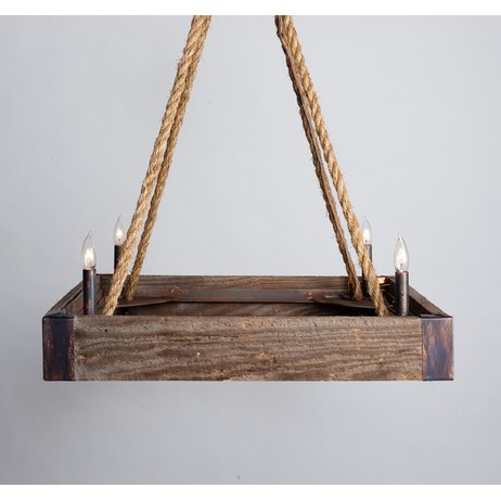 Barnwood Square  by Lowcountry Originals