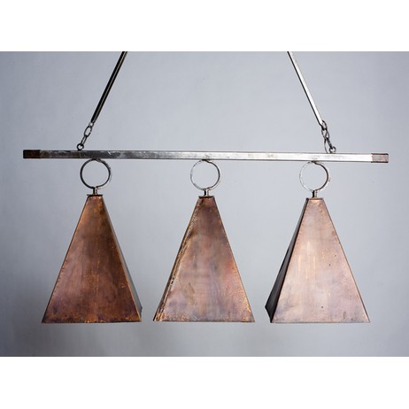 Copper Pyramid Island Pendant by Lowcountry Originals