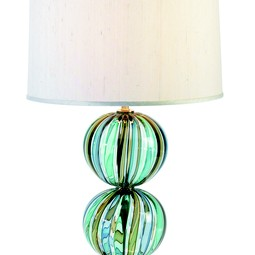 Striped Bocce Table Lamp by Tracy Glover