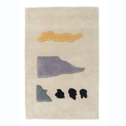Talking Rocks Rug by Cold Picnic