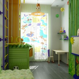Children's Printed Window Shades by OrangePiel
