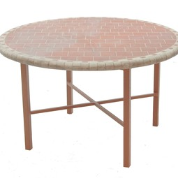 Prestige Round Dining Table by Legacy Fine Casual Furniture