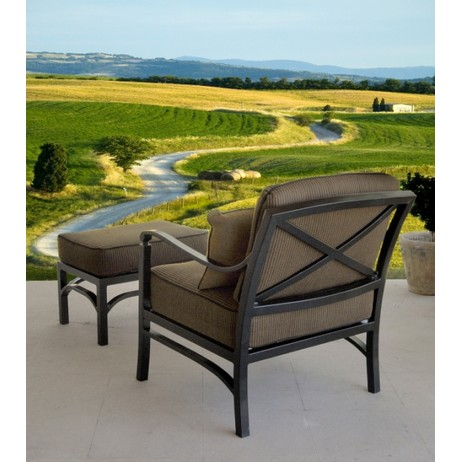 Toscana Lounge Chair and Ottoman by Legacy Fine Casual Furniture