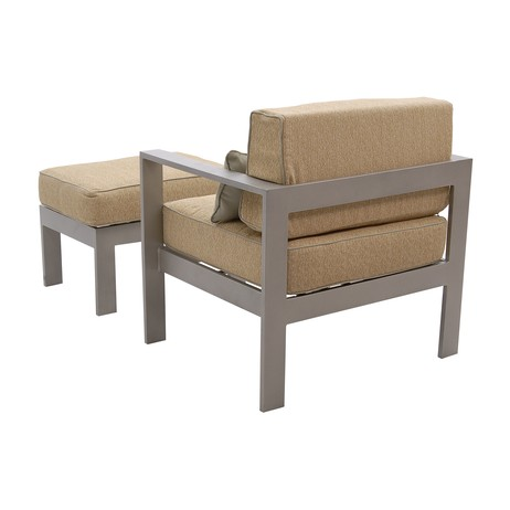 Tempus Lounge Chair and Ottoman by Legacy Fine Casual Furniture