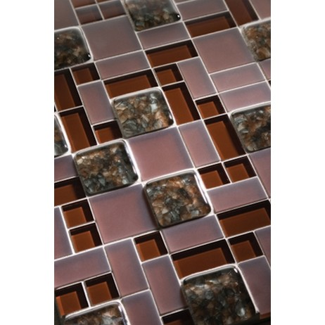 Aquarius recycled glass tile by Interstyle Ceramic & Glass Ltd.