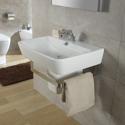 Emma Semi-pedestal Sink by Bissonnet