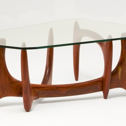 Trapezoid Coffee Table by Nathan Hunter Design