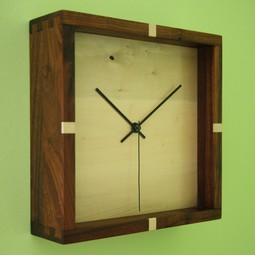 Square One Clock by Pernt