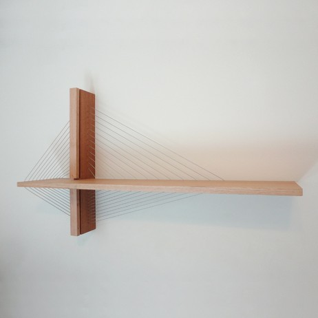 Suspension shelf by Robby Cuthbert Design