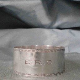 Whiting Vintage Silver Napkin Ring by Silver Magpies