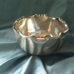 Vintage Silver Art Deco Bowl by Silver Magpies