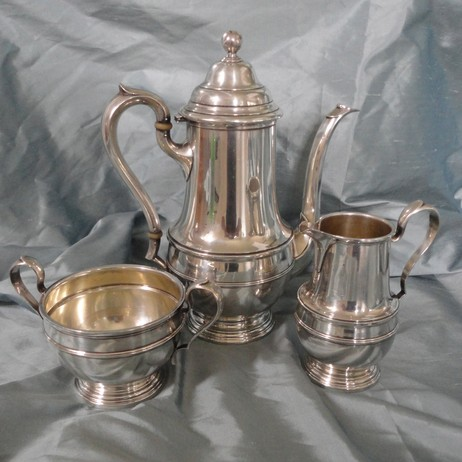 Vintage Silver Tea/Coffee Service by Silver Magpies