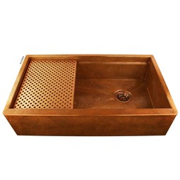 Legacy Copper Kitchen Sink by Havens Metal