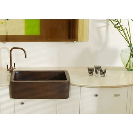 Lavastone sink and countertop by Pyrolave
