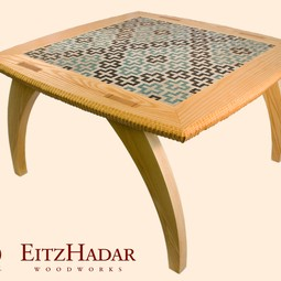 Collabori Table by Eitz Hadar Woodworks