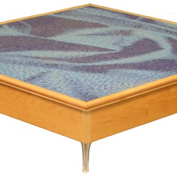 Mosaic Tables by Eitz Hadar Woodworks