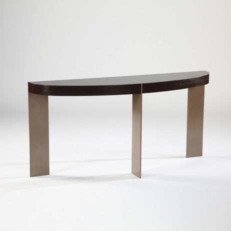 ST-91 DEMILUNE CONSOLE TABLE by Antoine Proulx, LLC