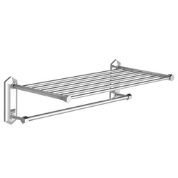 "MACKINTOSH 24"" Towel Rack With Rail by Lefroy Brooks"