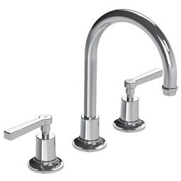 Fleetwood Lever 3-Hole Basin Mixer by Lefroy Brooks