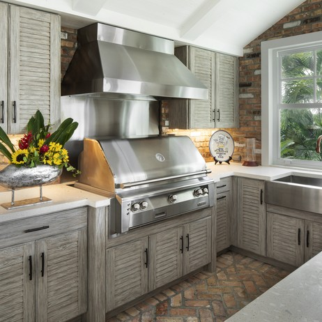 Wall Cabinets by NatureKast weatherproof cabinetry