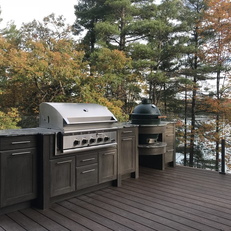 Dynamic Grill Bases  by NatureKast weatherproof cabinetry
