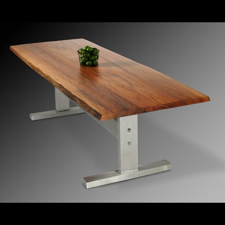 Sycamore Dining Table by David Stine Woodworking