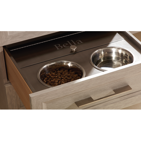 Stainless Pet Feeding Drawer by Bradco Stainless Products Co.