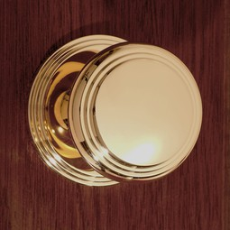 5th Avenue Interior Knob Set by Classic Brass