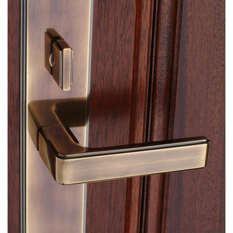 5th Avenue Entrance Lever Set by Classic Brass