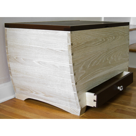 57th St Blanket Chest by Hatched Furniture