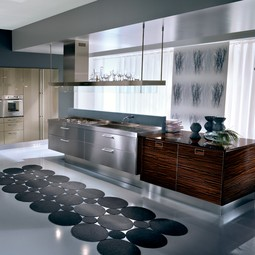 Outline grey Siliceo and Makassar by Pedini