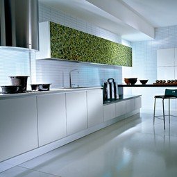 Q2 - white and verde decorated by Pedini