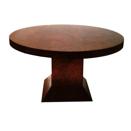 Round Nagato Dining Table by Perry Design