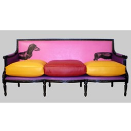 COCO LATTE SOFAS 	   by Jimmie Martin