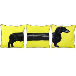 Yellow Sausage Dog by Jimmie Martin